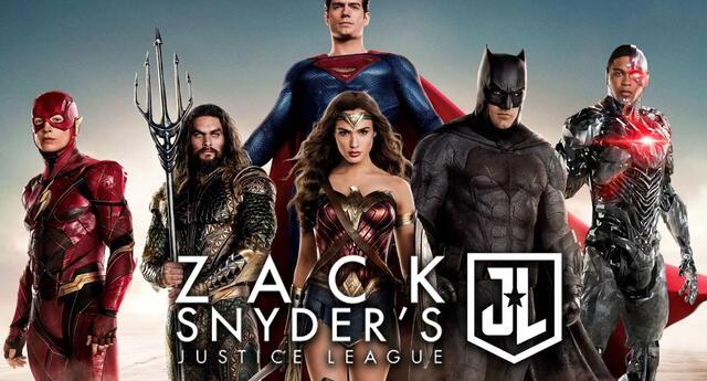 Justice League de Zack Snyder llegará el 18 de marzo a HBO Max. Foto: Warner Bros