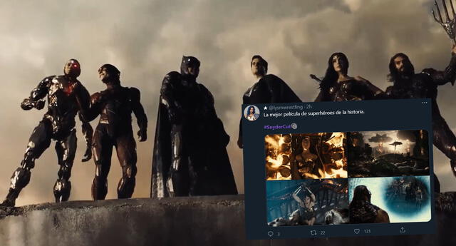 La Liga de la Justicia de Zack Snyder se hace tendencia y los fans aman la película