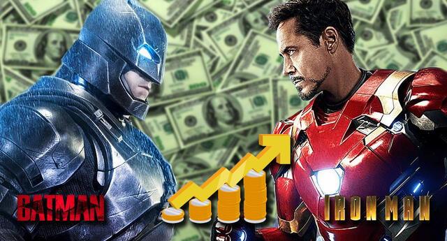Un estudio revela cuál es el superhéroe más rico.