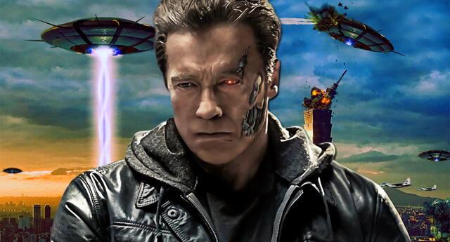 Arnold Schwarzenegger se encargaría de guiar a la humanidad en un ataquen extraterrestre.
