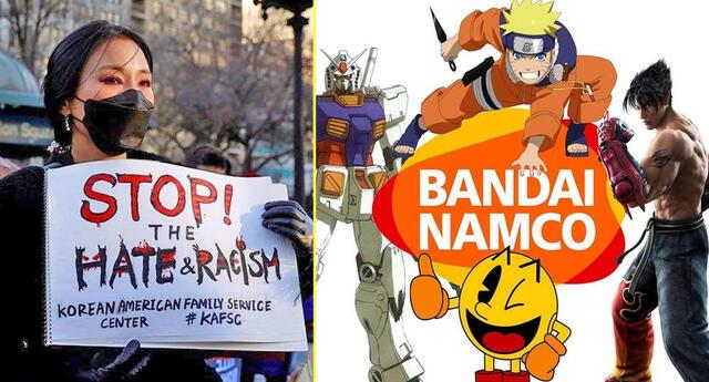 Bandai Namco y su postura en contra del racismo asiático.