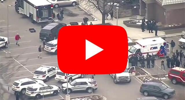 El tiroteo en el supermercado King Snoopers de Boulder, Colorado, es el más reciente atentado masivo ocurrido en Estados Unidos./Fuente: KMGH-TV.