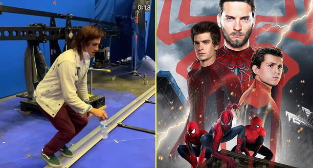 El doble de Andrew Garfield filtra su presencia en el set de 'Spider-Man: No Way Home'.