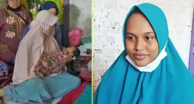 Siti Zainah habría tenido un embarazo críptico.