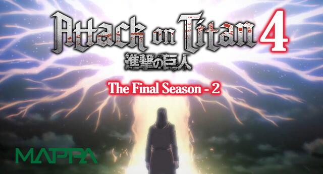 Attack on Titan volverá en la Temporada Invierno del 2022.