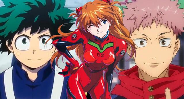 Autores de My Hero Academia y Jujutsu Kaisen unidos por Evangelion