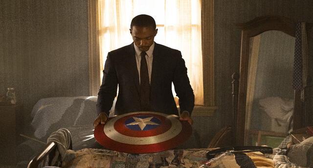 Anthony Mackie es Falcon, el que heredó el escudo del Capitán América (Foto: cortesía Disney)