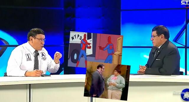 ¡Inaudito! Candidato al Congreso se entrevistó a si mismo en su programa de TV