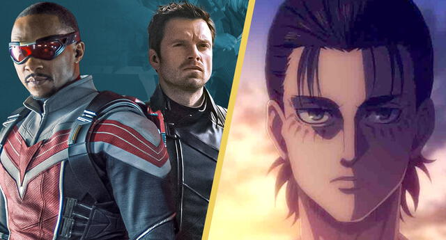 Falcon and The Winter Soldier destronan a Shingeki no Kyojin como la serie más popular