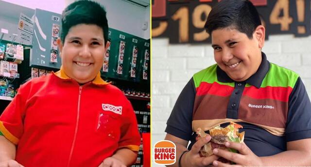 El 'niño del Oxxo' ahora es imagen publicitaria de Burger King.