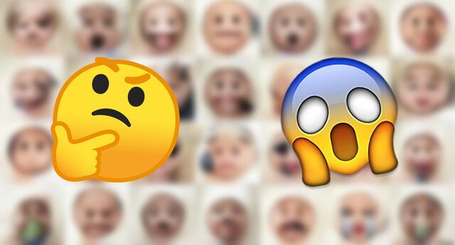 Con la ayuda de una red neuronal, los emojis lograron una forma humanizada.