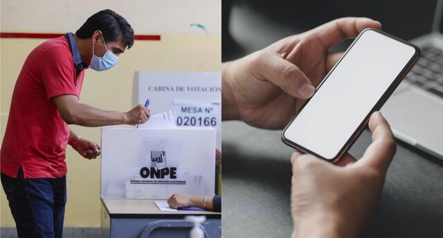 Informate sobre los candidatos y todo lo necesario para llevar un proceso electoral óptimo con estas herramientas digitales./Fuente: Andina/Forbes.
