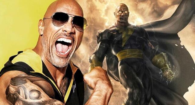 Dwayne Johnson confirmó que la esperada película de Black Adam finalmente ha iniciado su rodaje./Fuente: MexMads.