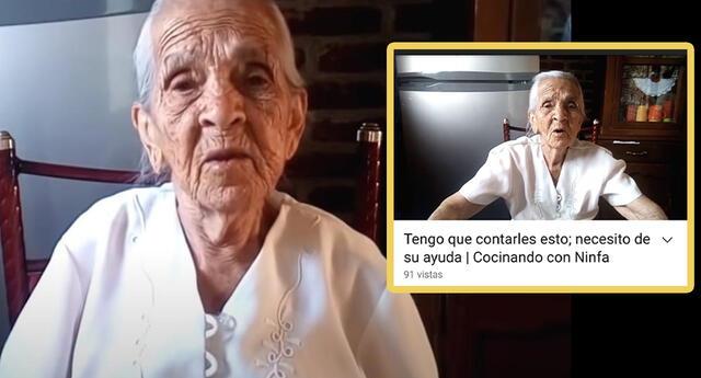 Abuelita youtuber pide ayuda para cumplir un deseo en su cumpleaños y se hace viral (VIDEO)