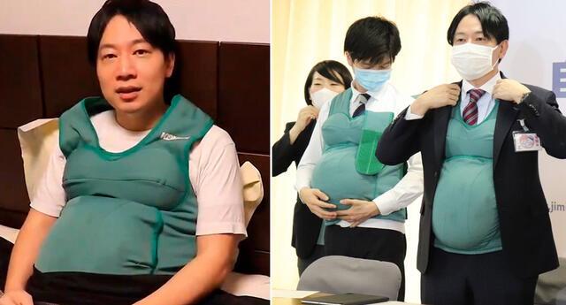 Parlamentarios japoneses quisieron experimentar la gestación de un bebé.