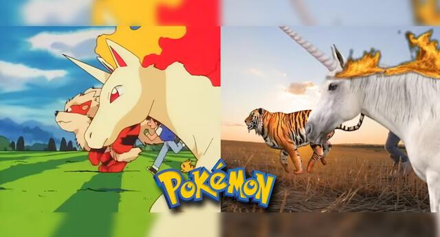 Intro de Pokémon es recreada con imágenes reales.
