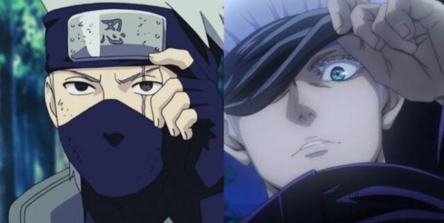 Naruto y Jujutsu Kaisen se combinan con una inesperada fusión de Gojo y Kakashi