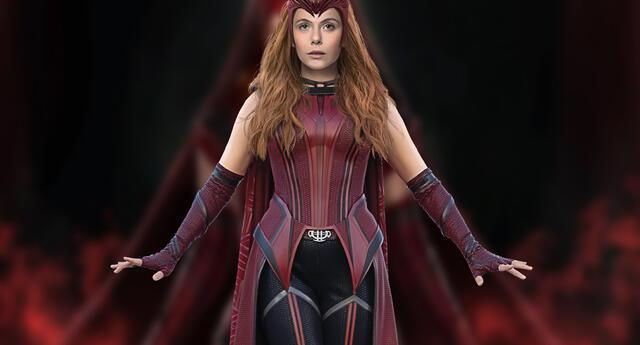 WandaVision: Este es otro look inédito de la Bruja Escarlata que no vimos en la serie