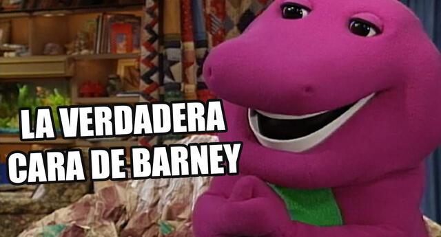 Barney: Este es el actor que daba vida desde dentro al dinosaurio morado
