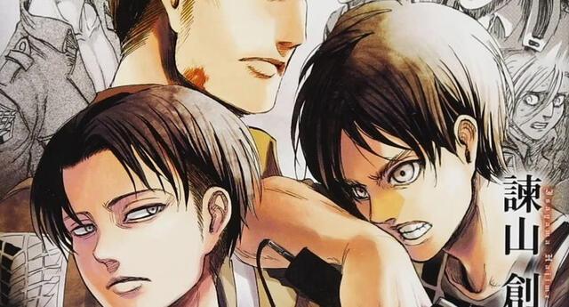 Shingeki no Kyojin lanzará un nuevo libro, tras el final de su manga