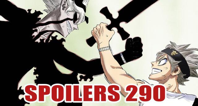 Black Clover 290 Spoilers: ¡El golpe final! La batalla contra los demonios gemelos está llegando a su final
