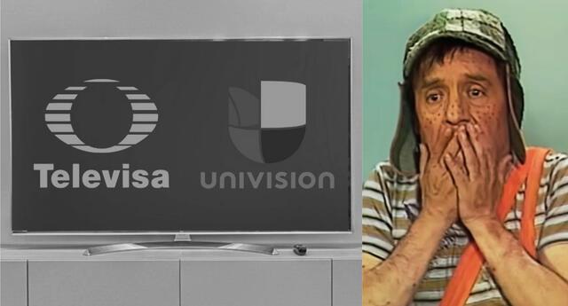 Televisa-Univisión es la nueva propuesta de las cadenas televisivas por conquistar el mercado de habla hispana de los servicios de streaming./Fuente: Composición.