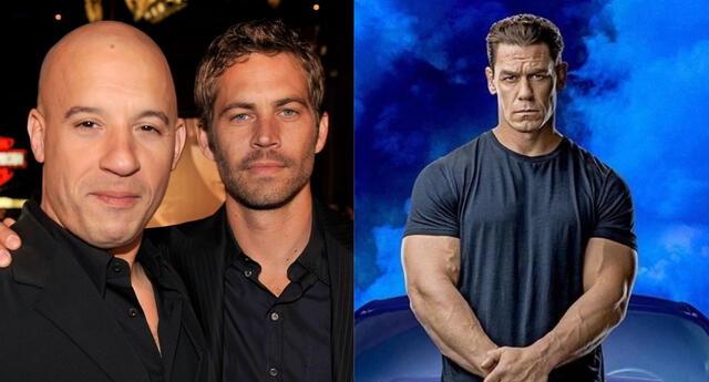 El actor que interpreta a Dominic Toretto contó una conmovedora experiencia relacionada con la elección de John Cena para el papel de su hermano en Fast 9./Fuente: Composición.