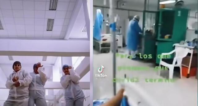 Enfermera en Piura subió videos a TikTok, con cadáveres y pacientes Covid desatando críticas