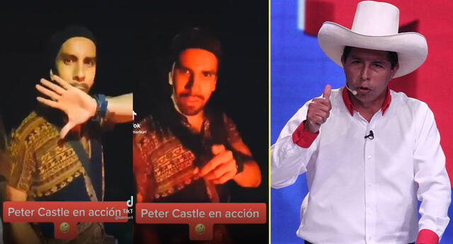 Joven se burla del dejo de Pedro Castillo y causa indignación en las redes.