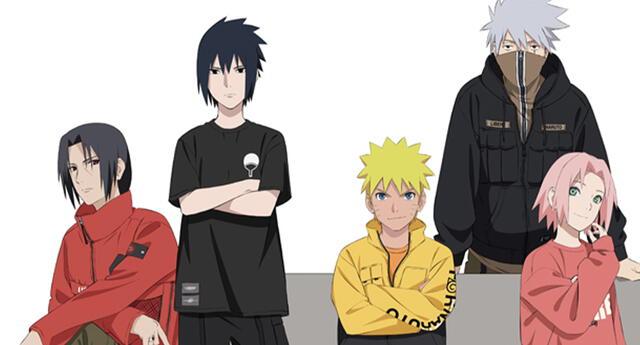 Naruto lanza una nueva línea de ropa exclusiva que no te puedes perder