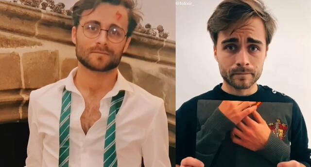 Harry Potter: Este TikToker es el clon del mago y su parecido asombra a todos los fans