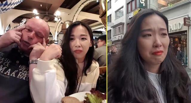 Joven coreana muestra cómo sufre de racismo en las calles alemanas.