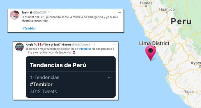 #Temblor se volvió tendencia en Twitter por el sismo del 19 de abril.