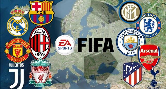Los clubes participantes de la Superliga Europea serían removidos de FIFA 22 como sanción./Fuente: MedioTiempo.