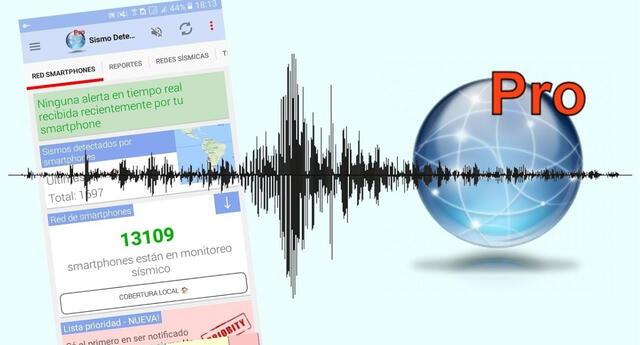 Sismo Detector es la app capaz de detectar un sismo con anticipación e informarlo al usuario./Fuente: Sismo Detector.