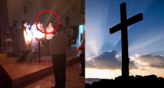 """Aparición de Jesús"" causa conmoción en Facebook."