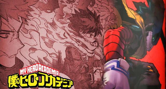 My Hero Academia 310 Spoilers: Mentor y pupilo ¿Un nuevo quirk para Deku?