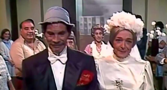 Ramón Valdés y Angelines Fernández, interpretaron a una pareja de esposos.