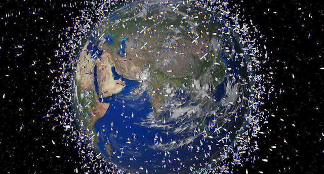 La basura espacial producida por la Tierra traería consecuencias.