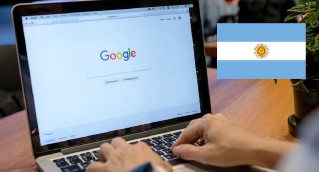 Un usuario aprovechó un fallo en el sistema de Nic Argentina y adquirió los derechos de uso de la web de Google en dicho territorio./Fuente: Getty Images.