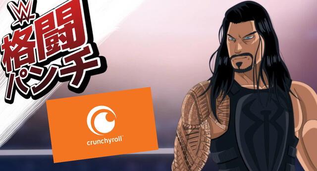 WWE y Crunchyroll se unen para lanzar una inesperada serie de anime