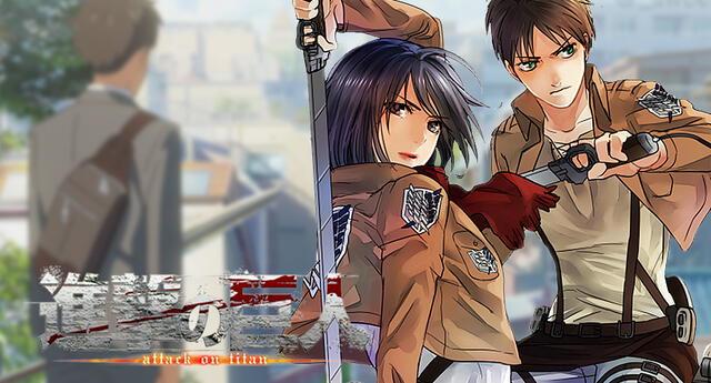 Artista fusiona a Shingeki no Kyojin con Your Name en romántica escena