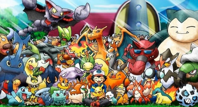 Pokémon Journeys traerá de regreso a todos los antiguos compañeros de Ash para una nueva aventura./Fuente: TV Tokyo.