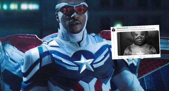 Anthony McKie predijo que sería el Capitán América desde hace 7 años