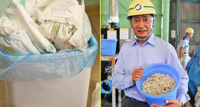 Ingeniero crea novedosa tecnología para erradicar los desechos de los pañales.