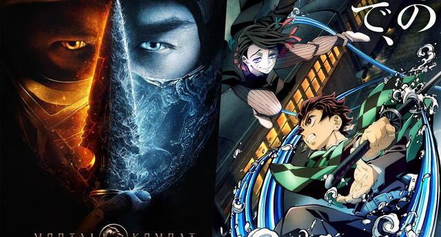 Kimetsu no Yaiba derrota a Mortal Kombat en la taquilla, en su fecha de estreno