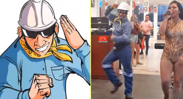 El 'ingeniero bailarín' es inmortalizado en una animación.