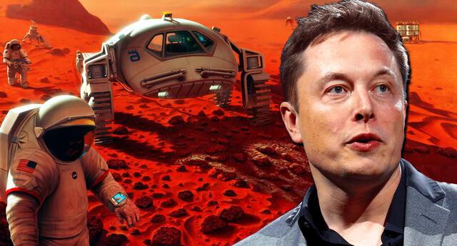 Elon Musk cree que el viaje a Marte será peligroso pero 'increíble'.