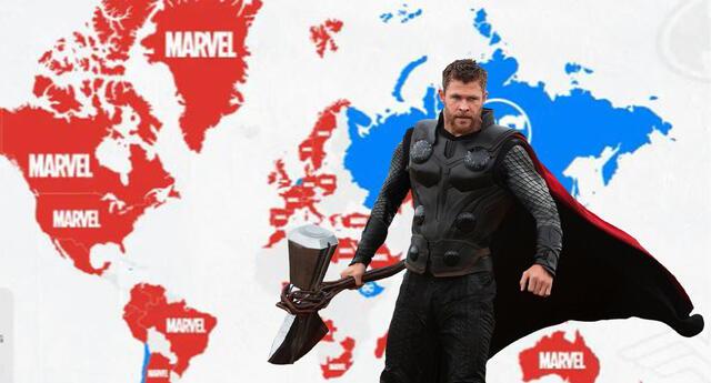 Estudio revela que los héroes de Marvel son más populares que los de DC