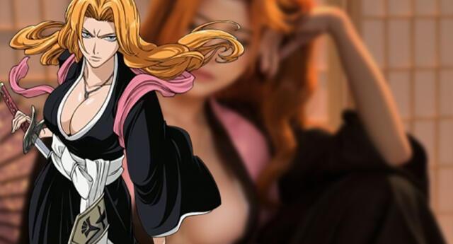Bleach: Una joven se transforma en la bella y amada Matsumoto, cautivando fans